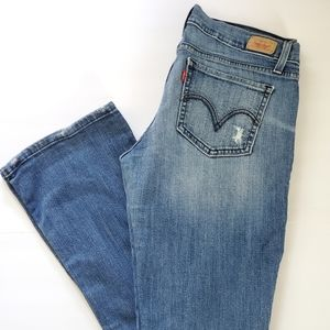 Levi's 524 Too Superlow Low Rise Jeans